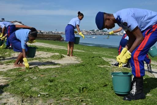 Sema destaca Dia Mundial da Água com campanha de limpeza de praias