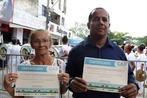 Governo entrega certificados do Cadastro Ambiental Rural na cidad...