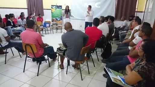 Juventude � destaque na oficina de educa��o ambiental em Andara�