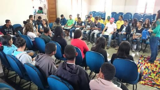 Oficina do Programa Bahia sem Fogo fortalece o di�logo entre diferentes atores sociais da cidade de Mucug�