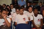 Jovens apresentam trabalhos em comemoração ao Dia Mundial do Meio...